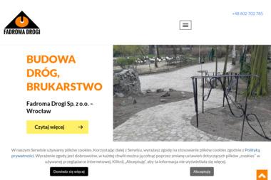FADROMA DROGI Sp. z o.o. - Układanie kostki granitowej Wrocław