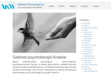 Gabinet Psychologiczny Anna Krzysztofowicz-Wesołowska - Psycholog Kraków