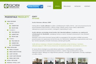 Gobi Wrocław - Meble biurowe i do pracowni Wrocław