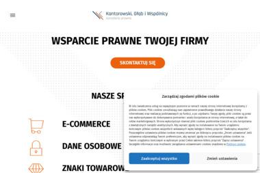 Kancelaria radcy prawnego Kantorowski i Wspólnicy - Obsługa prawna firm Rzeszów