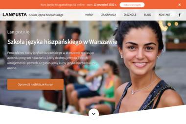 Langusta.io - Szkoła Języka Hiszpańskiego w Warszawie - Język hiszpański Warszawa
