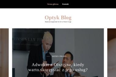 Salon optyczny Bożenna Ławrynowicz - Okulary i soczewki Olsztyn