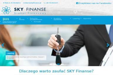 SKY Finanse - Gotowy Sklep Internetowy Kielce
