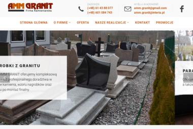 Amm granit - Schody Metalowe Marzenin