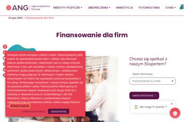 Grupa ANG Biznes Artur Molenda - Kredyt hipoteczny Olsztyn