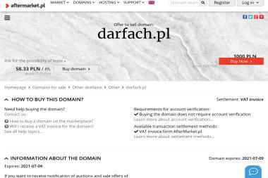 DARFACH - Wyka艅czanie Mieszka艅 Piotrków Trybunalski