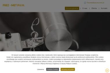 Firma Produkcyjno Usługowo Handlowa FREZ-MET Bogdan Dudziński - Tokarz Jerzmanowice