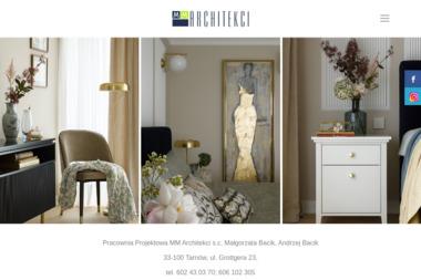 MM Architekci s.c. - Projekty Domów Nowoczesnych Tarnów