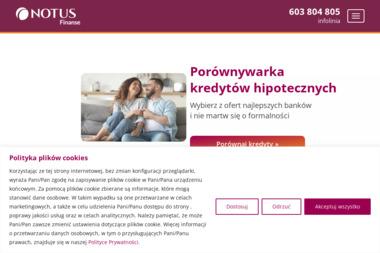 NOTUS Finanse S.A. - Kredyt hipoteczny Warszawa
