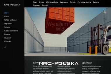 NRC POLSKA MACIEJ TUSZYŃSKI - Wózki widłowe Wrocław
