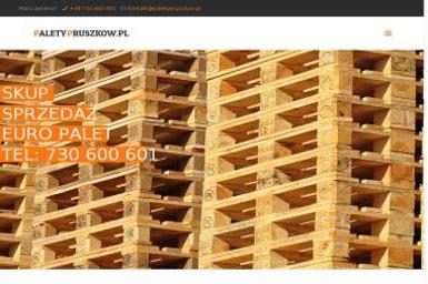 PALETON Skup Sprzedaż palet - Drewnopochodne Pruszków
