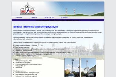 Zakład Produkcyjno-Usługowo-Handlowy ,,UNIMET'' - Instalatorstwo Elektryczne Opoczno