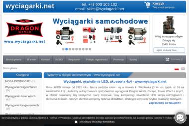 Wyciagarki.net - Akcesoria motoryzacyjne Kowal