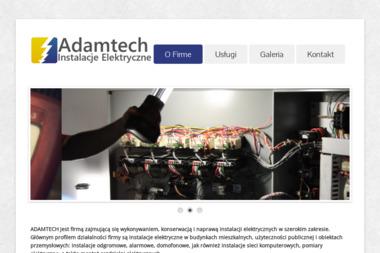 ADAMTECH Arkadiusz Adamczyk - Montaż Systemów Alarmowych Chodel