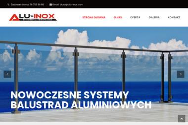 ALU-INOX Sp. z o.o. - Zabudowa Balkonu w Bloku Legnica