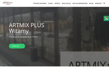 Artmix Plus Konstrukcje Aluminiowe - Drzwi Dębe Wielkie