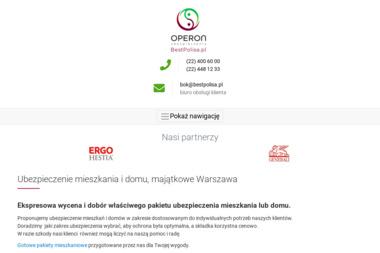 Bestpolisa.pl - Agencja ubezpieczeniowa - Ubezpieczenia oc dla Firm Warszawa
