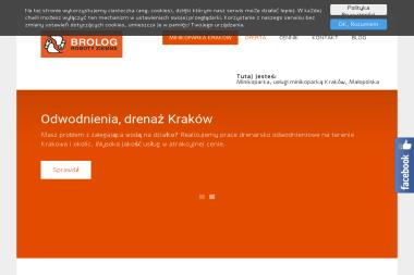 BROLOG Maciej Paluchowski - Roboty ziemne Kraków