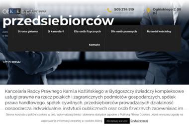 Kancelaria Radcy Prawnego Kamil Koźliński - Windykacja Bydgoszcz