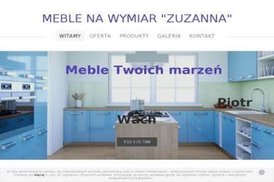 Meble na Wymiar Zuzanna - Wyposażenie wnętrz Łebcz