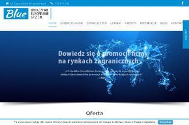 BLUE - DORADZTWO EUROPEJSKIE SP. Z O.O - Doradca finansowy Warszawa