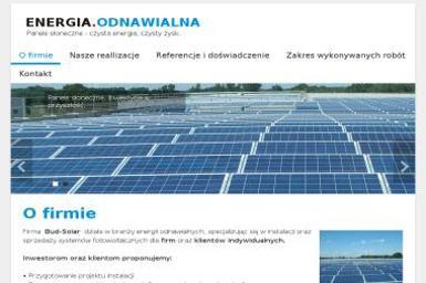 Bud-Solar Przedsiebiorstwo Produkcyjno Uslugowo-Handlowe - Kolektory Słoneczne Rybarzowice
