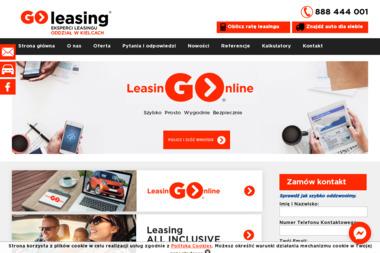 GO-LEASING ODDZ KIELCE - Leasing Samochodów Dostawczych Kielce