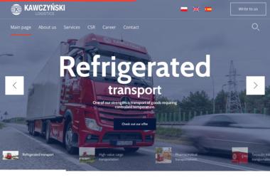 Przedsiębiorstwo Handlowo Produkcyjne Włodzimierz Kawczyński - Firma transportowa Ślesin