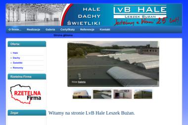 LvB Hale Leszek Bużan - Ocieplanie Pianką PUR Leśniewo