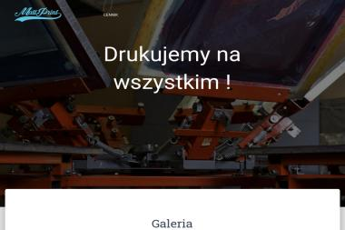F.P.H.U. MATT Monika Głaz - Drukarnia Dobczyce