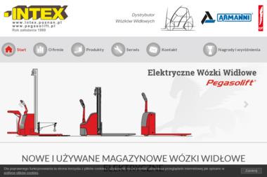INTEX Jerzy Jałyński, Monika Jałyńska-Jackowiak - Wózki paletowe elektryczne Poznań