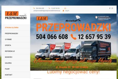 Transport Ł&M Marek Wijas - Przewóz Mebli Kraków