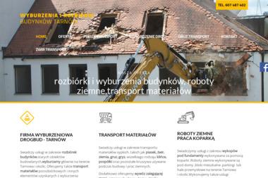 Firma Budowlana Drogbud - Wyburzenia Tarnów