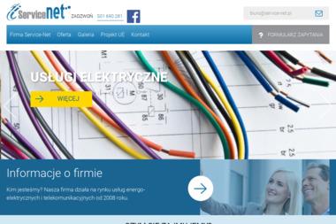 Service-Net - Wiercenie Studni Głębinowej Trzemżal