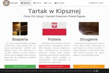 Drew-Pol Usługi i Handel Drewnem - Belki Dachowe Ciężkowice