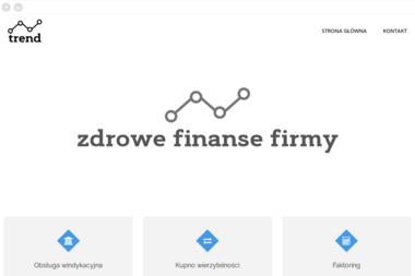 Trend Tomasz Rzepiak - Faktoring Sosnowiec