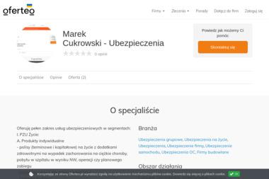 Marek Cukrowski - Ubezpieczenia - Grupówki Brzeg Dolny