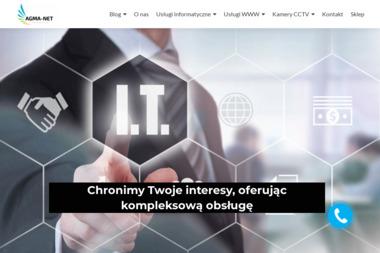 Agma-Net Mateusz Sułkowski - Strony internetowe Koszalin