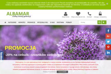 Albamar - Szkółka roślin - Sklep internetowy Błachów