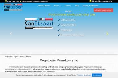 KanEkspert Pogotowie Kanalizacyjne - Instalacje sanitarne Częstochowa