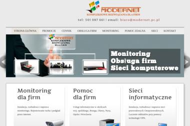 Modernet kompleksowe usługi informatyczne - Alarmy Brzeg