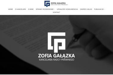 Kancelaria Radcy Prawnego Zofia Gałązka - Radca prawny Siedlce