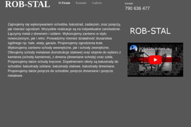 ROB-STAL - Balustrady ze Stali Nierdzewnej Zewnętrzne Ostrów Wielkopolski