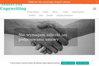 Copy Justyna Wolniewicz - Copywriter Wieluń