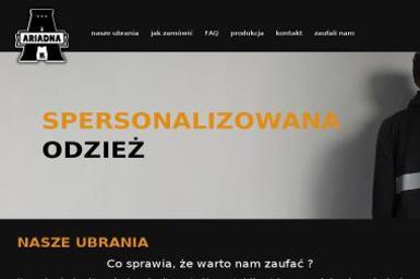 AriadnaWear - Szycie Odzieży Ciężkiej Piaseczno