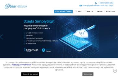 Blue Netbook s.c. - Strony internetowe Częstochowa