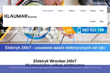 Klaumar Elektro - Alarmy Wrocław