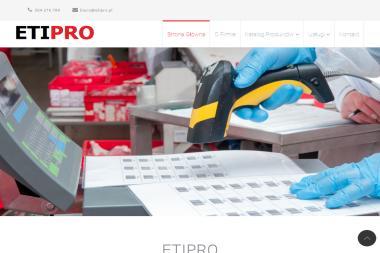 ETIPRO spółka z ograniczoną odpowiedzialnością sp.k. - Drukarnie etykiet Kraków