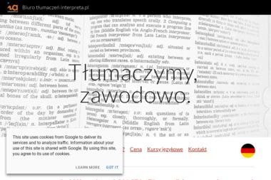 Biuro tłumaczeń interpreta.pl - Tłumaczenia dokumentów Szczecin