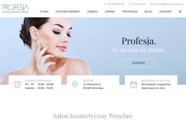 Klinika Zdrowia i Urody Profesja - Makijaż Wrocław